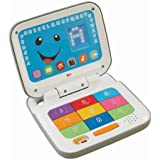 Fisher-Price Laugh & Learn Smart Stages Laptop, Grey/White