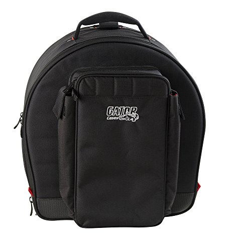 Gator Cases Pro-Go Ultimate Snare Drum Gig Bag with Removable Backpack Straps - Backpack Snare Padded