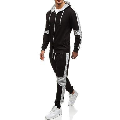 Tracksuit 2 Pieces Set 2018 Jogging Zipper Jacket Sportswear