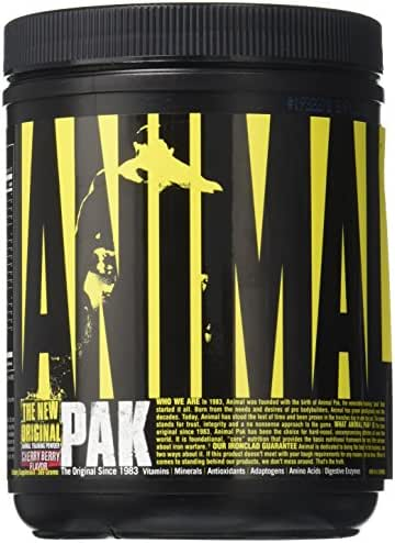 Animal Pak Multivitamin - Sports Nutrition Vitamins with Amino Acids, Antioxidants, Digestive Enzymes, Performance Complex - For Athletes and Bodybuilders - Immune Support, Recovery - 44 Scoops