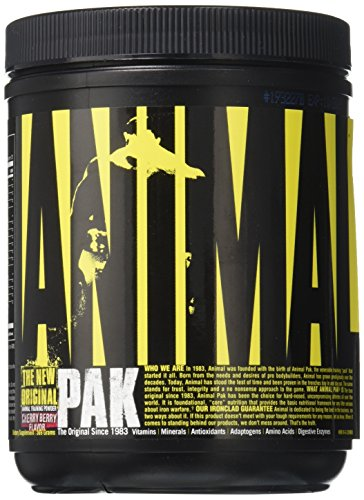Universal Nutrition Animal Pak Sports Nutrition Multivitamin Supplement 15 Count