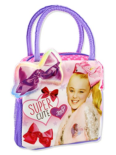 Nickelodeon JoJo Siwa Girls Soft Lunch Box (Pink/Purple)