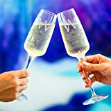 Set of 2 Personalized Wedding Champagne Flute