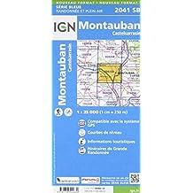 Montauban 1:25 000