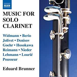 Works for Solo Clarinet