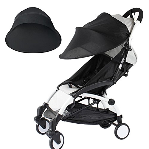 Light-Ren Baby Stroller Sun Shade, Baby Anti-UV Cloth Ray-Shade Stroller Cover Windproof Rainproof Sun Protection Umbrella Awning Shelter Universal - Protection Rayshade Uv