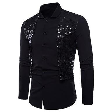 a8e16d5bdd3 VPASS Mens Long Sleeve Oxford Shirt Plain Poplin Vintage Formal Casual  Suits Slim Fit Button Down Tee Dress Shirts Blouse Top Blue  Amazon.co.uk   Clothing