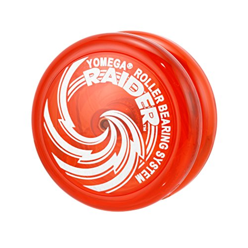 Yomega Raider - Responsive Pro Level Ball Bearing Yoyo, Designed for Advanced String Trick and Looping Play (Color May Vary) (Yomega Raider Yo Yo)