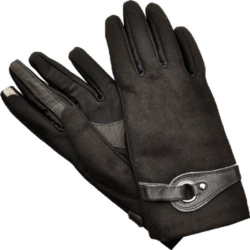 Isotoner Gloves Wool Smartouch Touchscreen Compatible Tex...