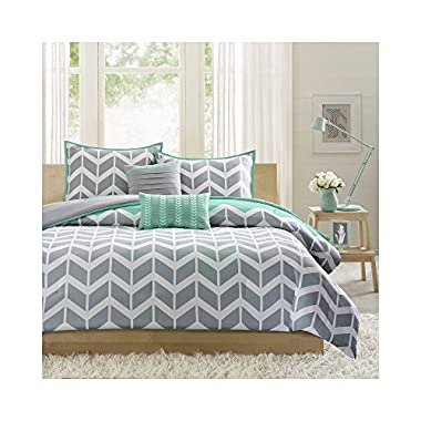 Intelligent Design Nadia Comforter Set - Teal - King/Cal King
