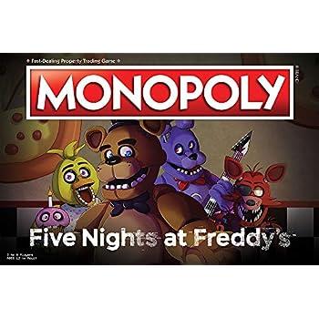 Juego De Mesa Monopoly Five Nights At Freddy Basado En