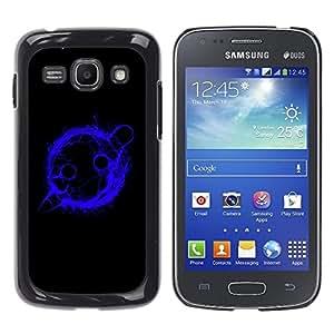 TECHCASE**Cubierta de la caja de protección la piel dura para el ** Samsung Galaxy Ace 3 GT-S7270 GT-S7275 GT-S7272 ** Blue Planet