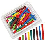 Cuisenaire Rods Kit for Fractions, Wood, Grades 4-6