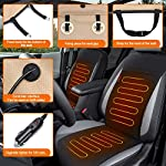Audew Car Heated Seat Cushion 12V Heated Seat Cover for Car, Car Heated Pad Car Seat Warmwer Heater with Intelligent…