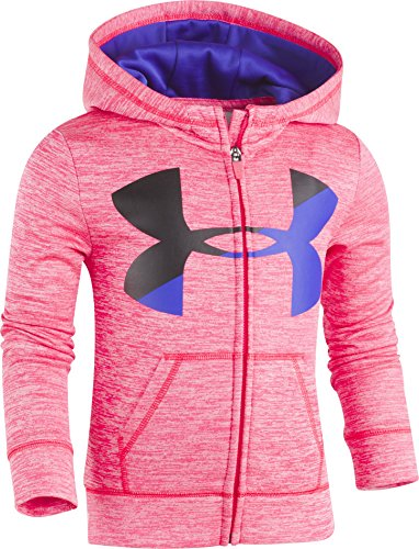 Under Armour Little Girls' Bl Twist Fleece Hoody, Penta Pink, 6 (Bl Twist)