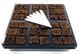Seed Starter Tray for Planting Seeds Or Starting Cuttings | Our 10x10 Seedling Starter Trays Comes with 36 Seed Starter Plugs | E Z-GRO Plant Tray is The Ideal Seed Starter Kit and Propagation Tray