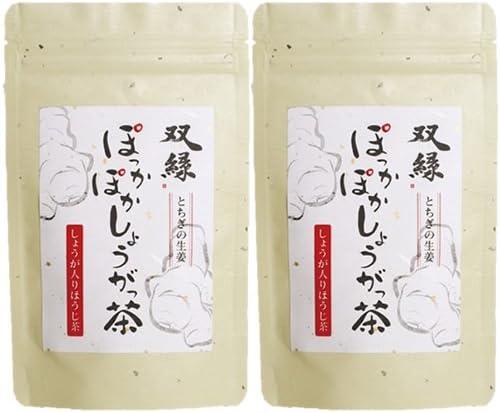 中島園 双縁 ぽっかぽかしょうがっ茶 40g×2袋