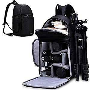 Best Epic Trends 51m8t4hLCcL._SS300_ CADeN Camera Bag Sling Backpack for DSLR/SLR Mirrorless Camera Waterproof, Camera Case Compatible for Sony Canon Nikon…
