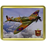 400g Shortbread Classic Collection - WWII Battle of Britain Veteran Spitfire