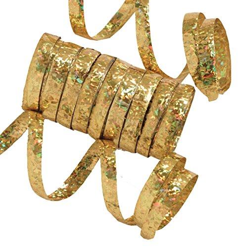 gold serpentine streamers - 1