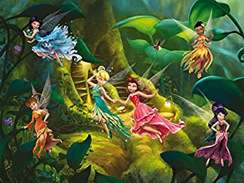 Amazoncom Disney Fairies Poster Photo Wallpaper Tinker Bell