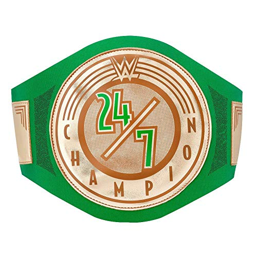 WWE Authentic Wear 24/7 Championship Toy Title Belt