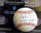 Autograph 190975 Inscribed 90 Ws Champs Cincinnati Reds 1990 World Series Champion Eric Davis Autographed Baseball