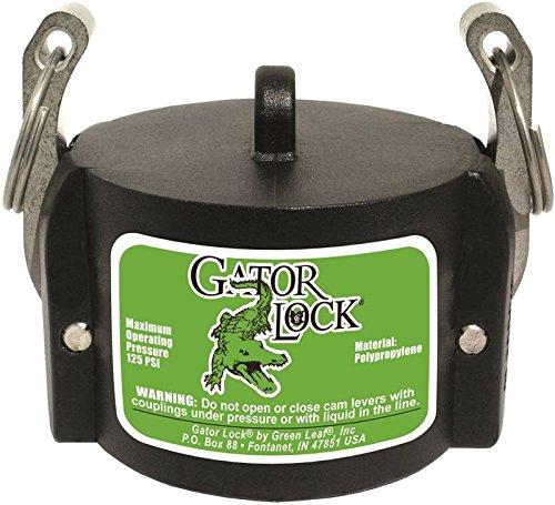 Green Leaf GLP 200 Cap NL Series Polypropylene Gator Lock Coupling, Non-Locking, 2