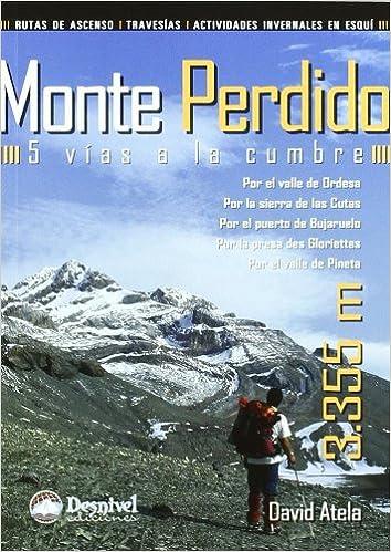 Monte perdido - 5 vias a la cumbre Guias De Escalada: Amazon ...