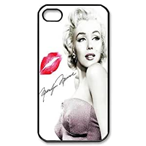 Steve-Brady Phone case Super Star Marilyn Monroe For Iphone 4 4S case cover Pattern-4