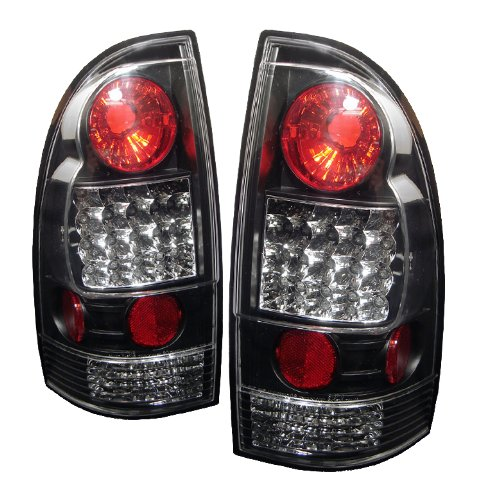 Spyder Auto Toyota Tacoma Black LED Tail Light (Tacoma Black Headlights compare prices)