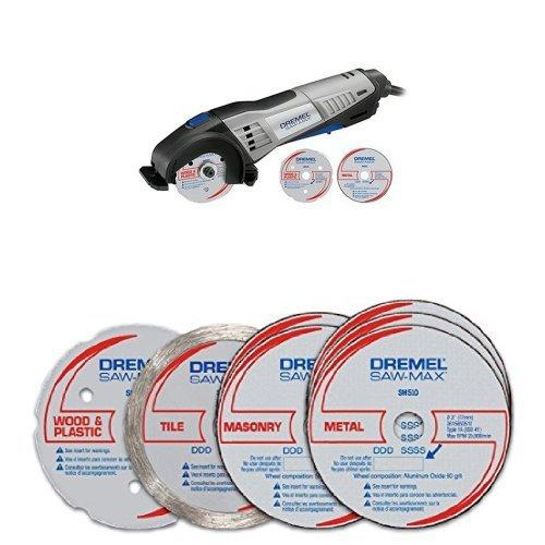 Dremel Saw-Max Tool Kit with Saw-Max Cutting Kit Portable Dry Cutting Saw