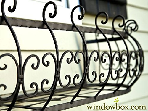 48 inch Parisian Window Box Planter by Windowbox