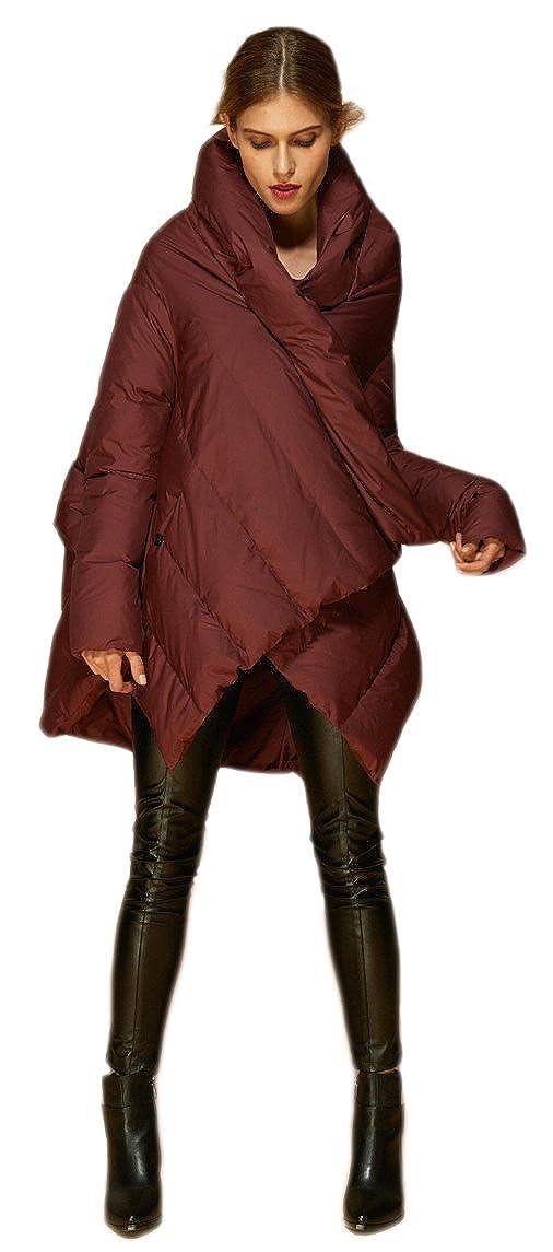 7b0f45e54 Orolay Women's Puffer Down Coat Cloak-Type Jacket
