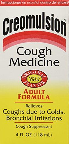 Creomulsion Cough Medicine 4 Oz