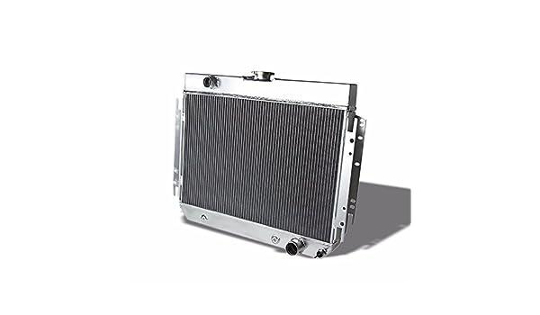 TRI CORE 3-ROW FULL ALUMINUM RADIATOR 63-68 CHEVY IMPALA//BEL AIR//BISCAYNE l6//V8