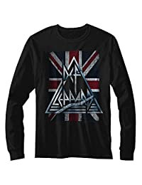Def Leppard Mens Jacked up Long Sleeve T-Shirt