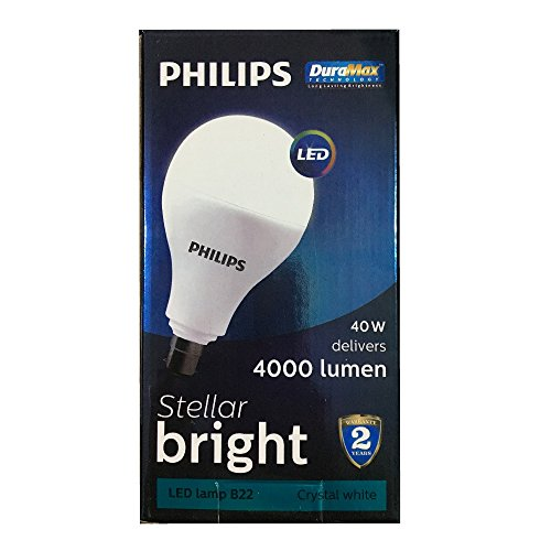 Philips Stellar Bright 40W B22 4000L Round..