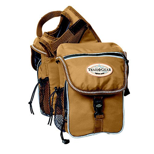 Weaver Leather Trail Gear Pommel Bag - Leather Trail Saddle