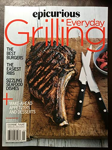 - Epicurious Everyday Grilling 2019 Reissue **+ FREE GIFT **