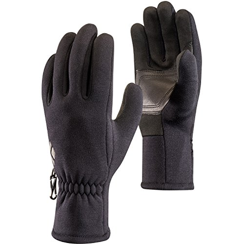 (Black Diamond Heavyweight Screentap Liner Gloves, Black, X-Large )