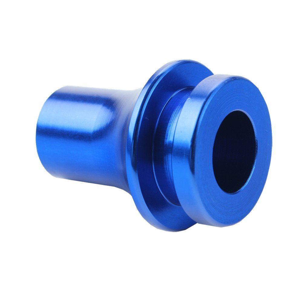 Dewhel SHIFT KNOB BOOT RETAINER//ADAPTER FOR MANUAL GEAR SHIFTER LEVER 10X1.5 Color Blue