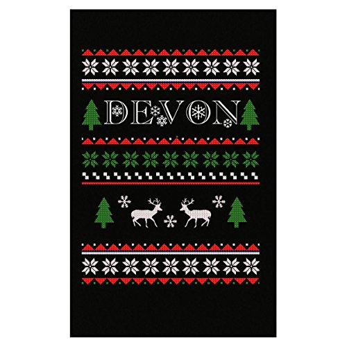Prints Express Ugly Christmas Sweater Jumper for Devon Great Poster
