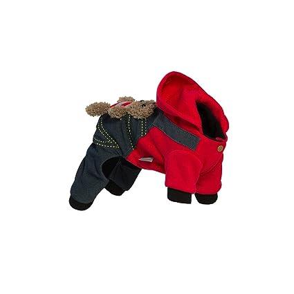 02ff9f5ead723 Amazon.com : Haoweidaoshanghang Dog Clothes, Pet Bears, Dog Clothes ...