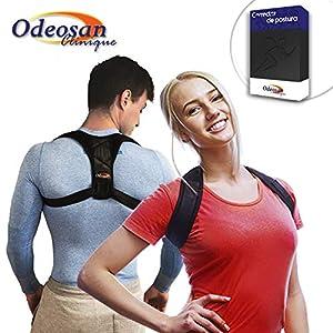 Odeosan clinique Correcteur de posture pour dos, épaule et Clavicule