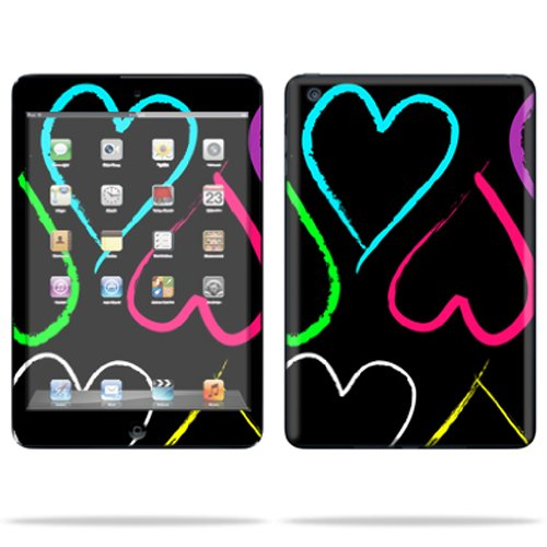 Mightyskins Protective Skin Decal Cover for Apple iPod Nano 7G (7th generation) MP3 Player wrap sticker skins Hearts