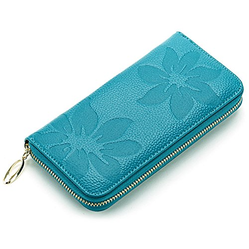 Women Wallet Zipper Leather Larger Capacity Elegant for sale  Delivered anywhere in Canada