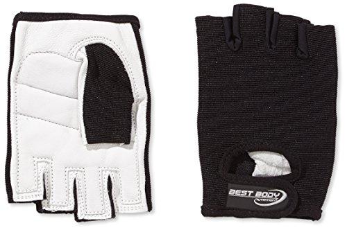 Best Body Nutrition Handschuhe Paar 246792, Gr. Large, Schwarz/Weiß