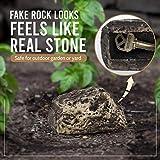 RamPro Hide-a-Spare-Key Fake Rock - Looks & Feels