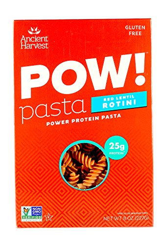 Ancient Harvest POW Pasta Red Lentil Rotini 8 oz